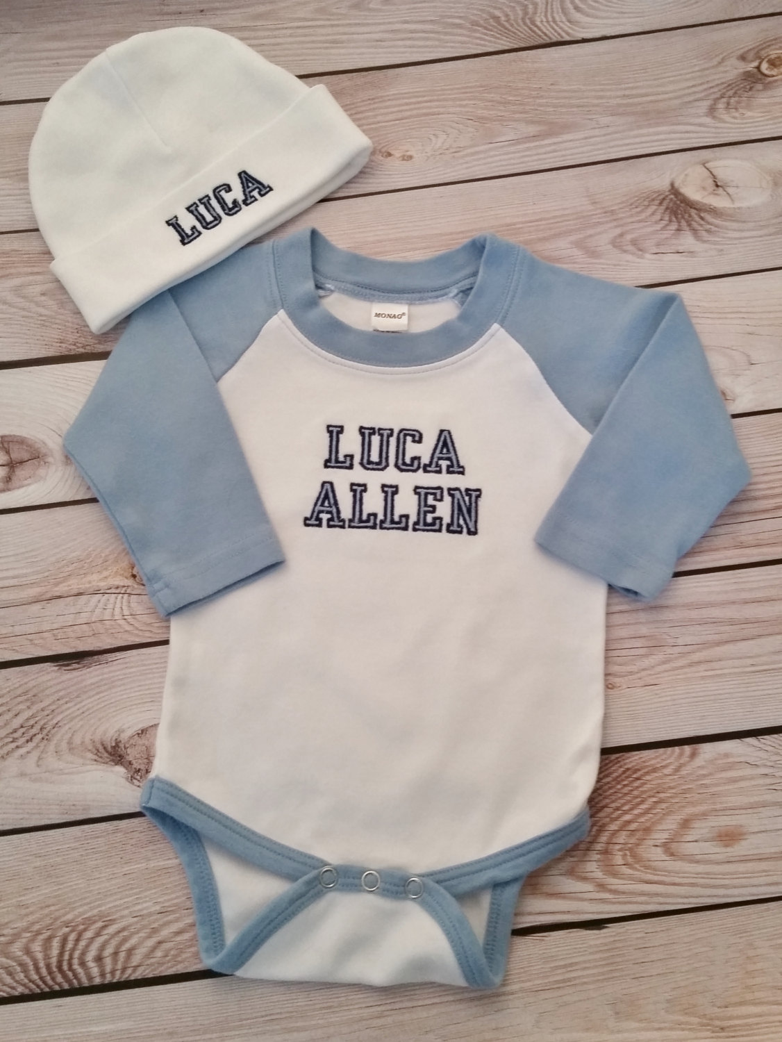 488e4c09688 Baby Boy Coming Home Outfit Newborn Baby Boy Hat Personalized Outfit Baby  Boy Gift Baby Boy