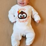 Personalized Baby Boy Thanksgiving Outfit Image