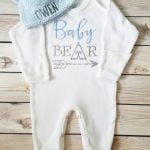 Baby Bear Convertible Footed Sleeper Image