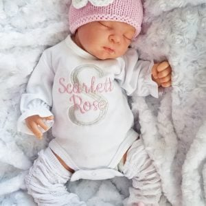 Baby Girl clothes newborn Girl Take Home outfit baby girl set baby